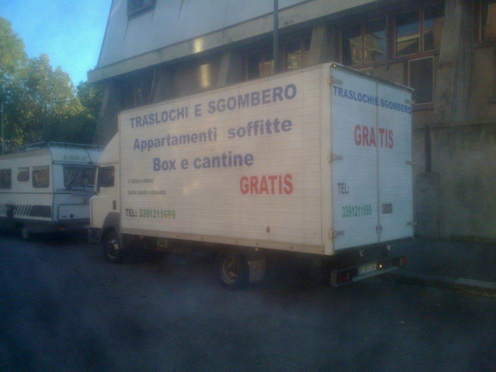 Sgombero Locali a Collegno